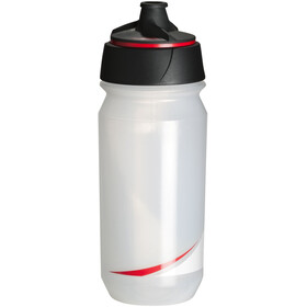 Tacx Shanti Twist Borraccia 500ml, transparent/red